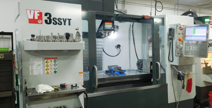 4-axis CNC Mill